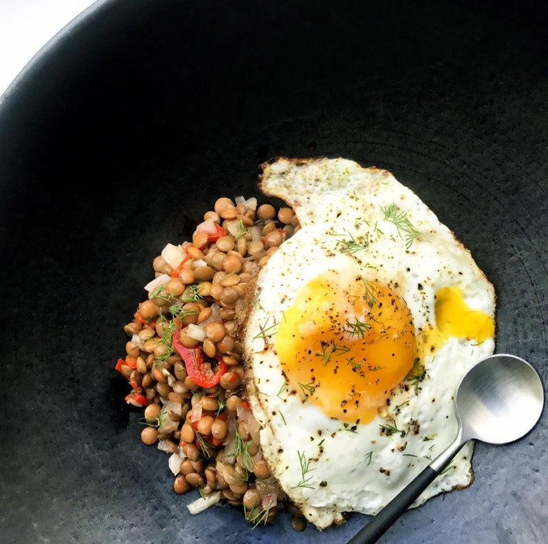 The Easiest Lentil Salad