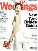 New York Magazine Weddings- Summer 2014