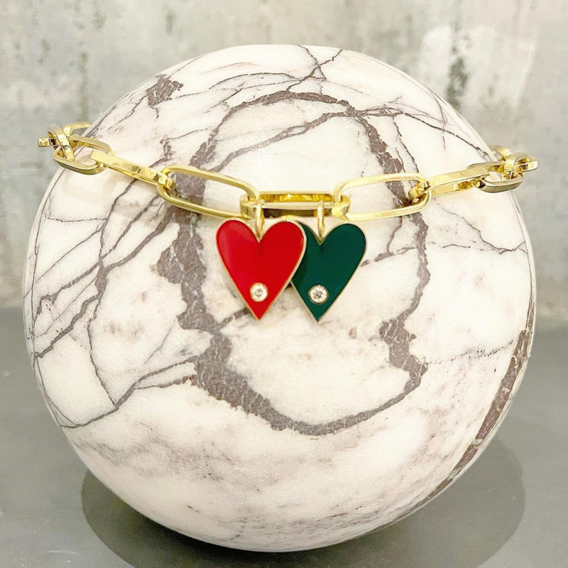 LARGE-GOLD-BORDER-ENAMEL-HEART-WITH-DIAMOND