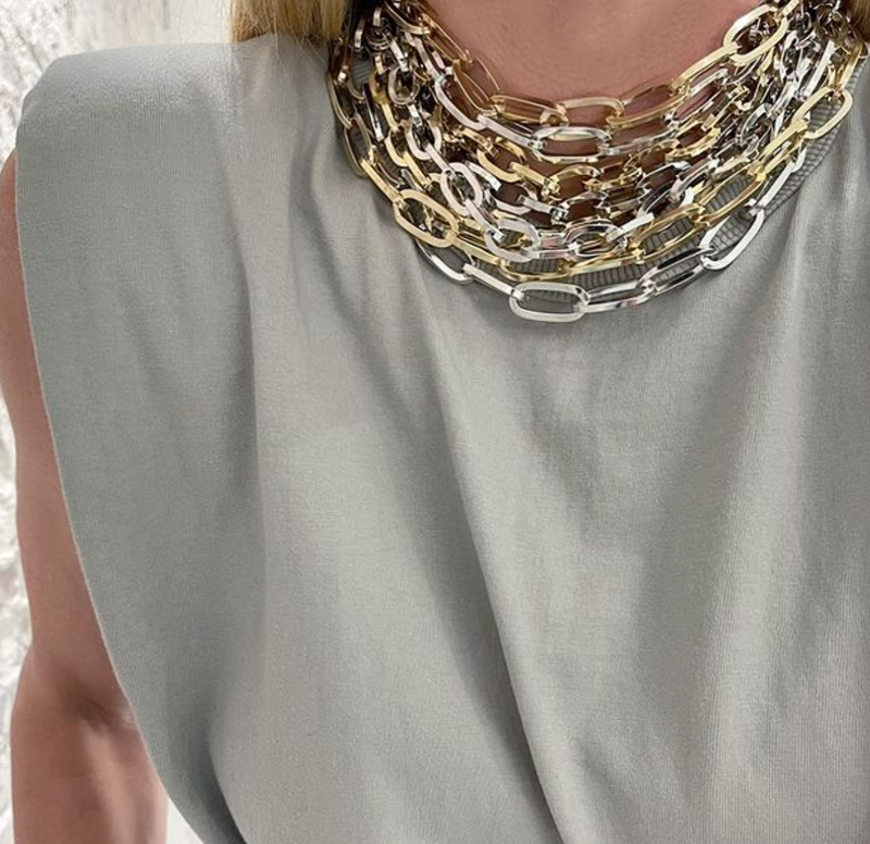 JENNIFER-FISHER-ESSENTIAL-BRASS-CHAIN-NECKLACES