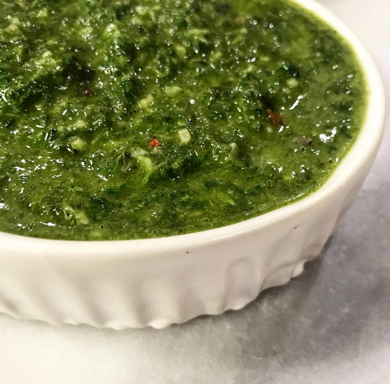 Chimmichurri is Delish on Anything