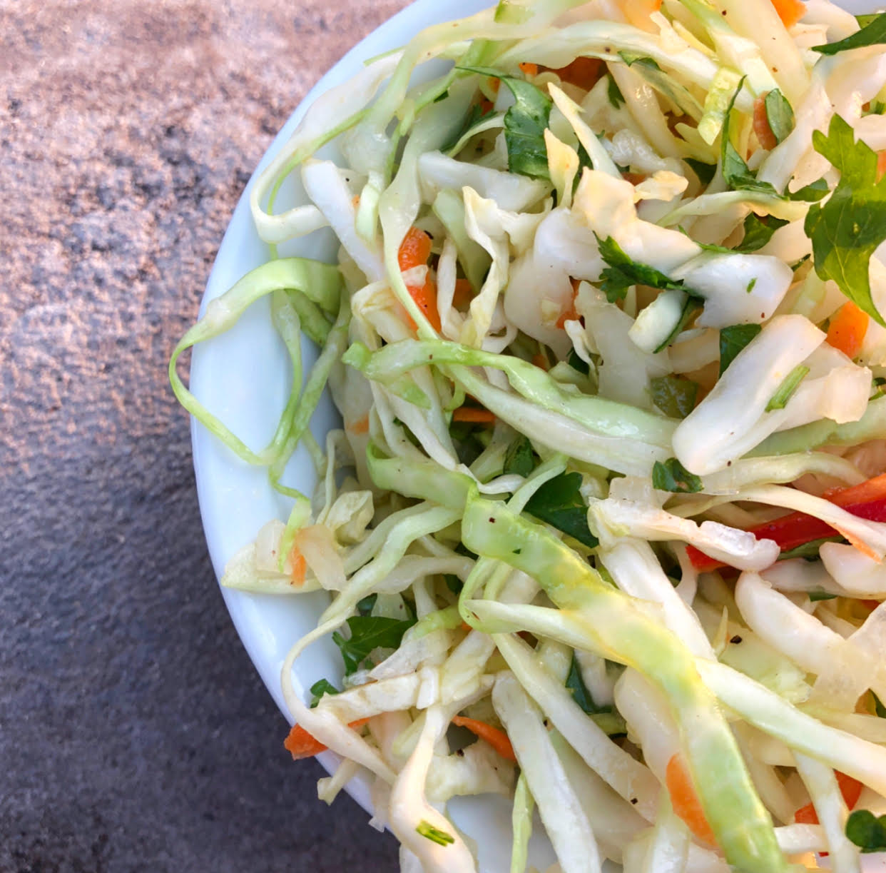 Mexican Lime Summer Slaw