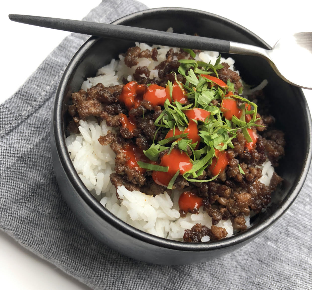 Grass Fed Beef Bowl
