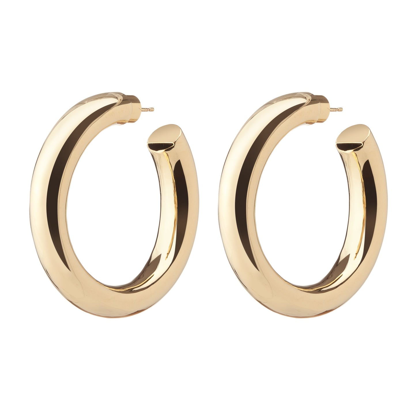 Jennifer Fisher Mamma Jamma Gold-plated Hoop Earrings Xcaed