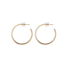 "1"" Skinny Hollow Hoops"