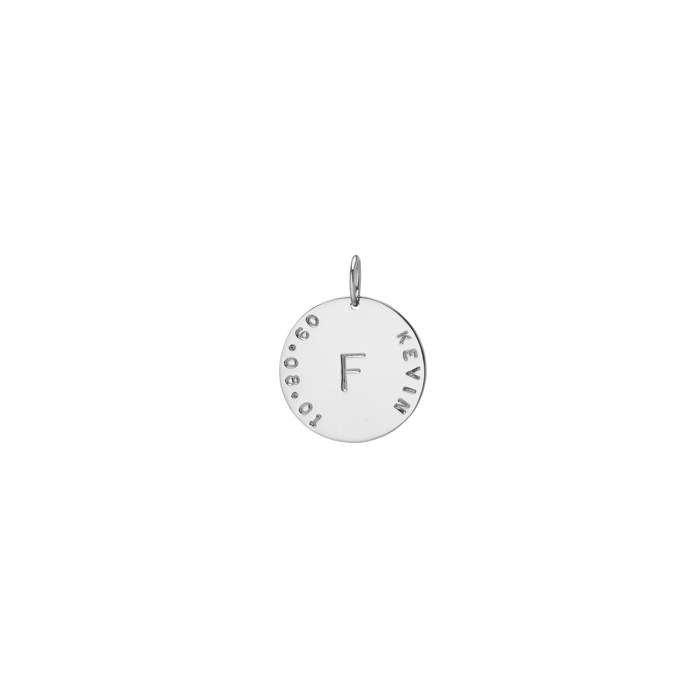 Milestone Monogram Small Circle