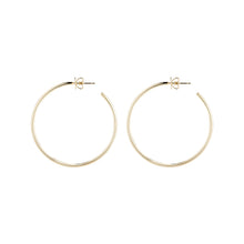 "1.5"" Hollow Eternity Hoops"