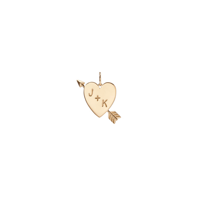 Medium Heart with Arrow
