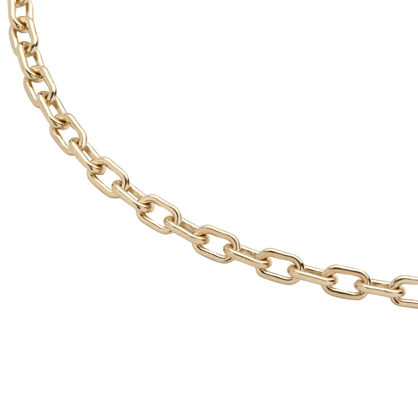 Large Round Link Chain