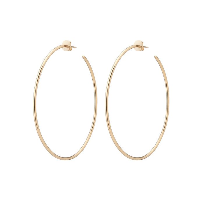 "2.5"" Skinny Hollow Hoops"