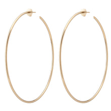 "3"" Skinny Hollow Hoops"