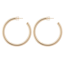 Fine Baby Lilly Hoops