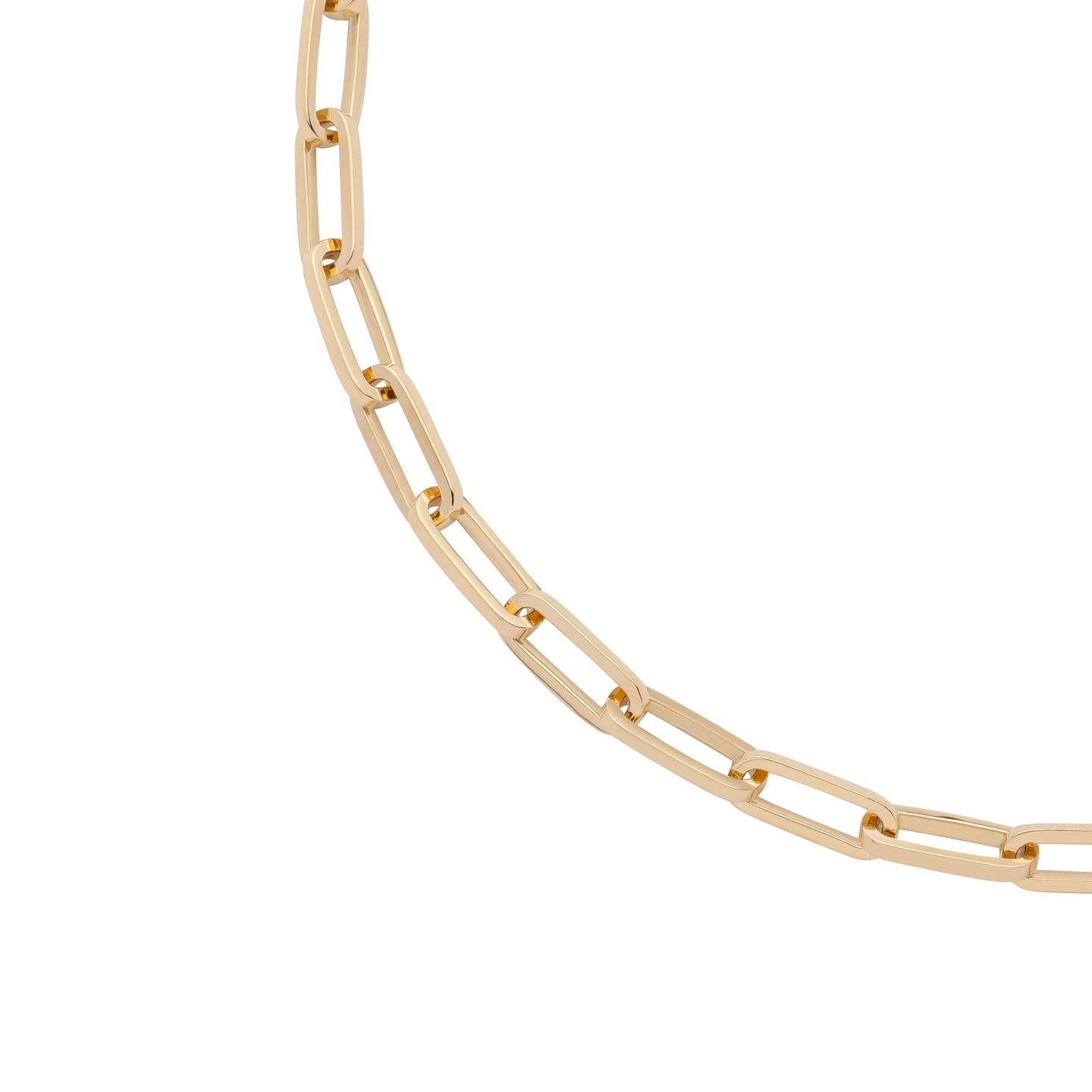 18K Fisher Link Chain