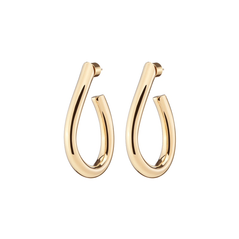 Mini Teardrop Samira Hoops