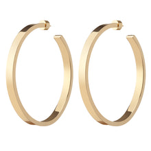 "2.5"" HOLLOW KATE HOOPS"