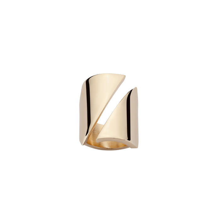 Diagonal Stripe Ring