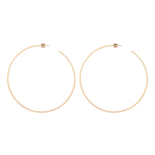 "3"" Square Thread Hoops"