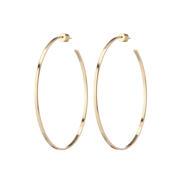 Flat Thread Hoops