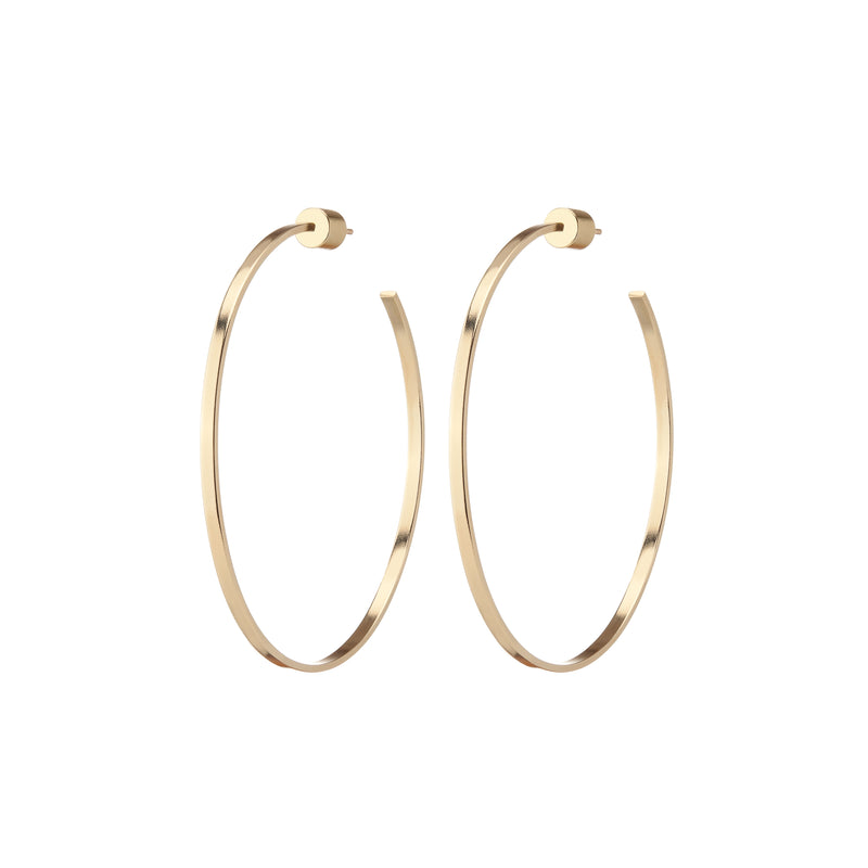 "2"" Flat Thread Hoops"