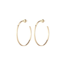 Baby Flat Thread Hoops