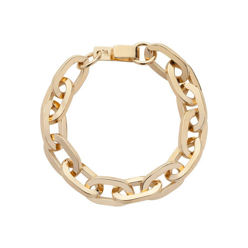 Small Essential Brass Bracelet