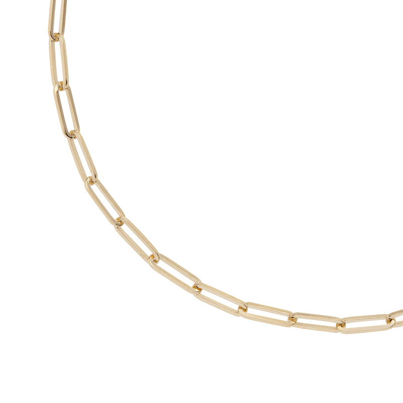 14K LONG LINK CHAIN