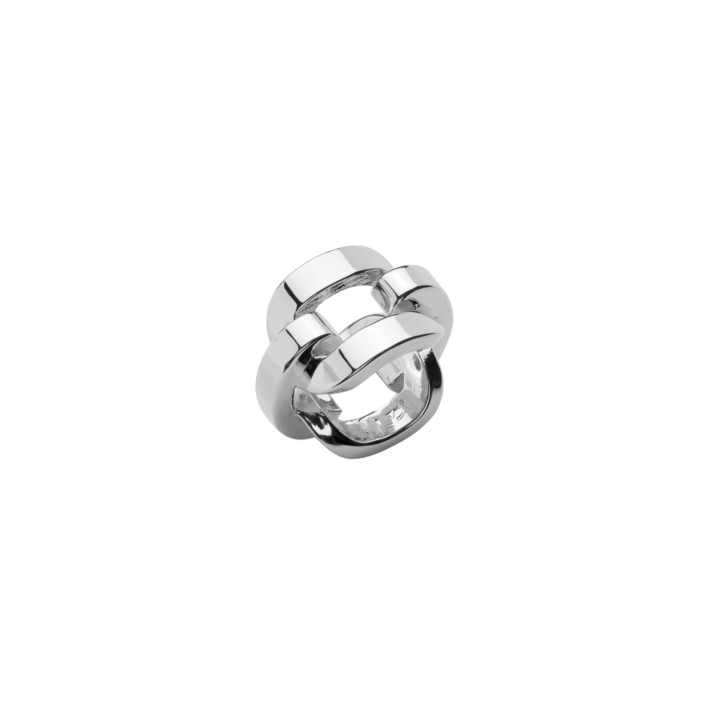Statement Chain Link Pinky Ring