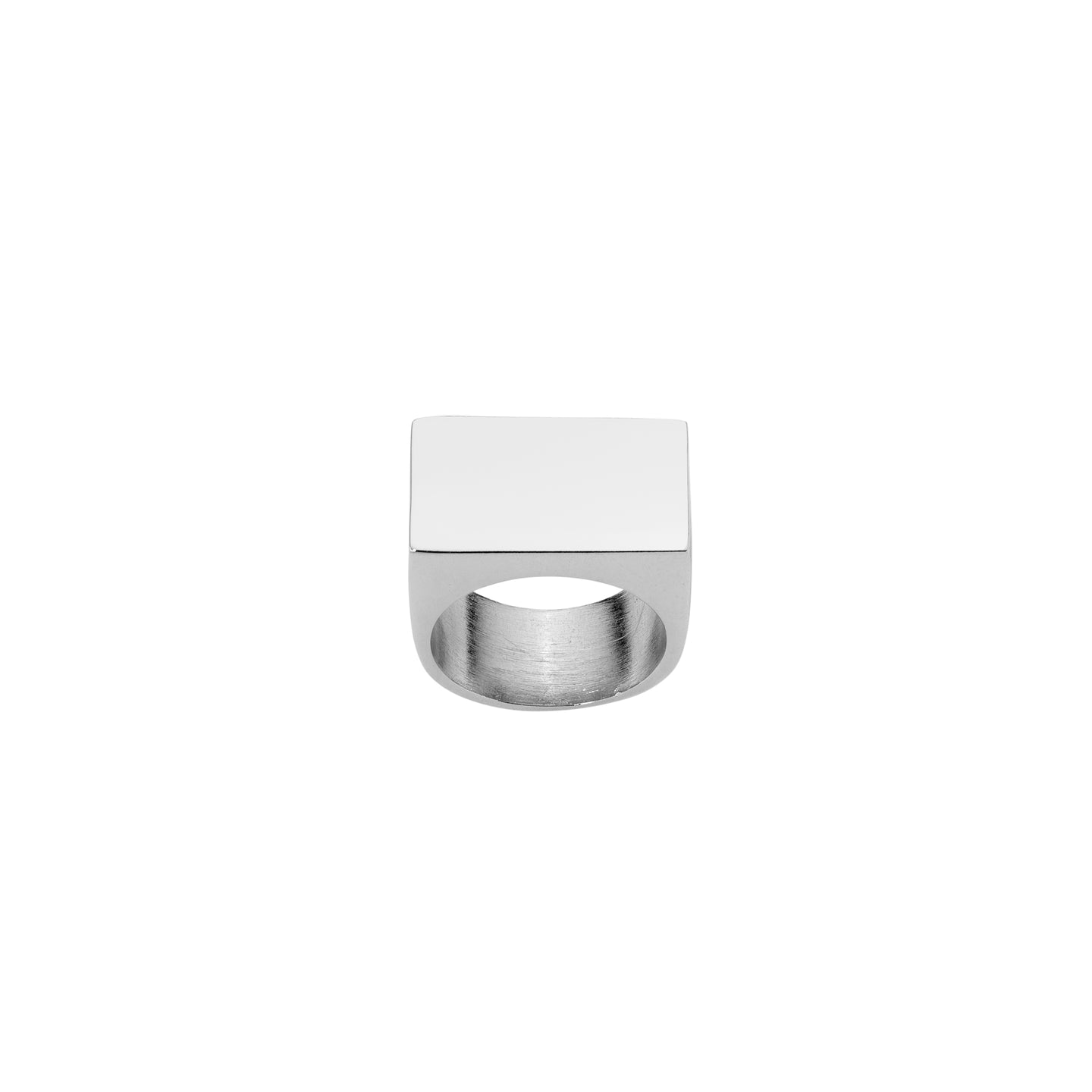 Stripe Signet Ring