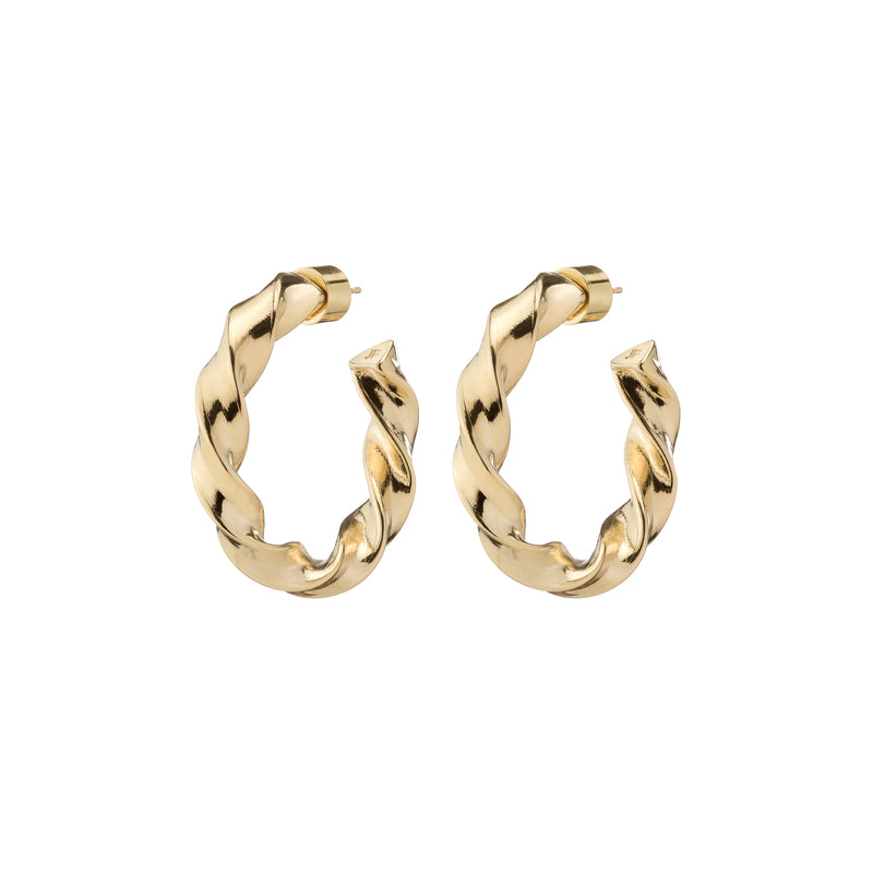 Mini Twisted Karla Hoops
