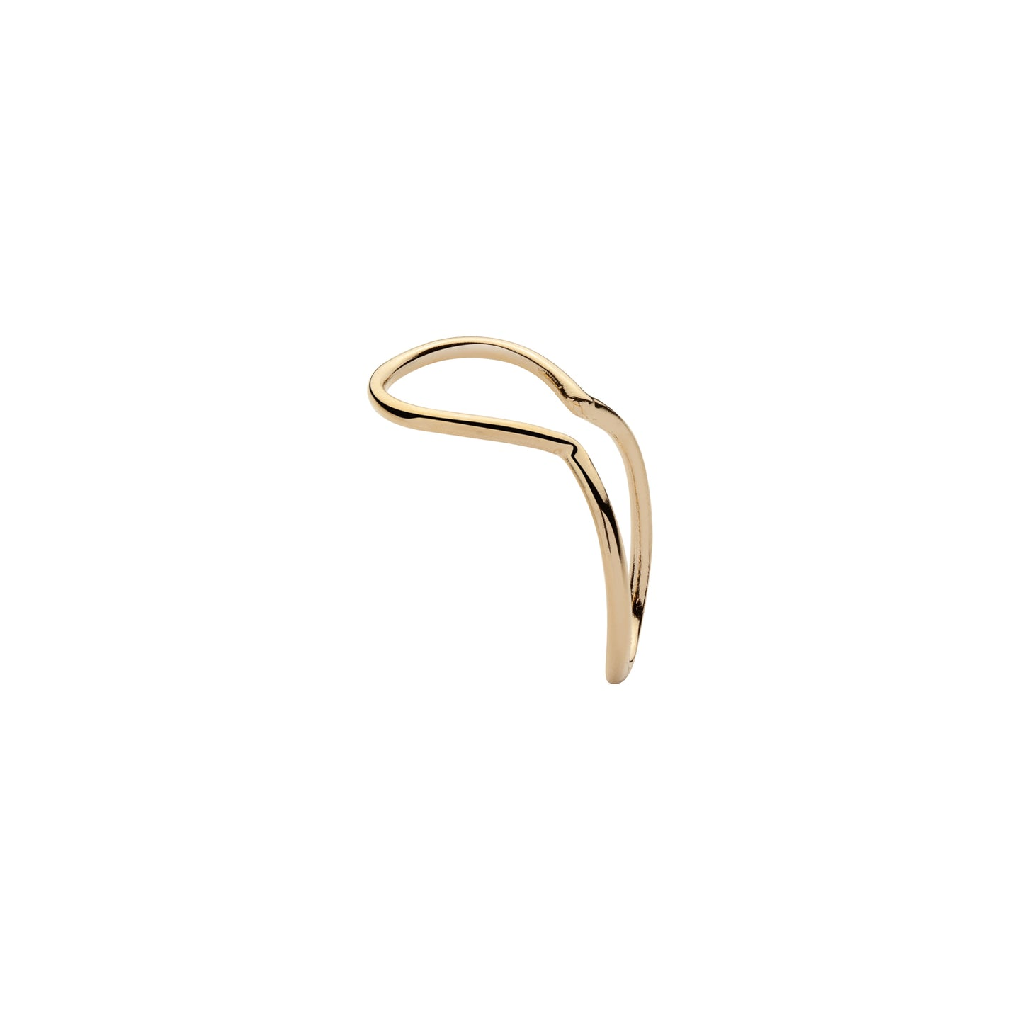 Minimal Thread Ear Cuff