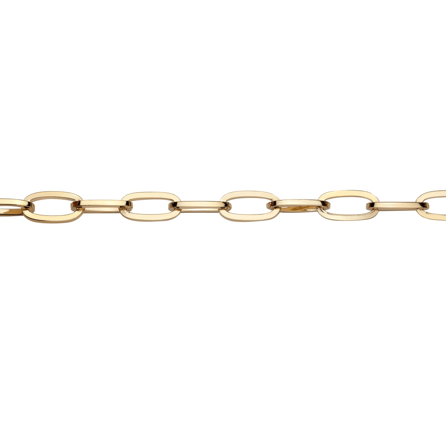 Large Essential Brass Anklet