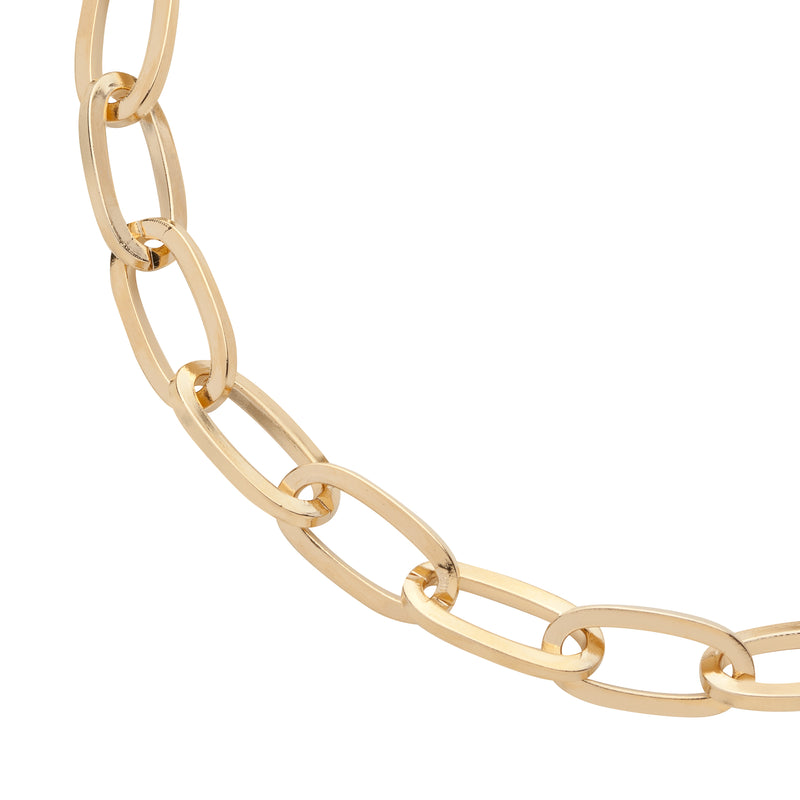 XLong Large Essential Brass Necklace