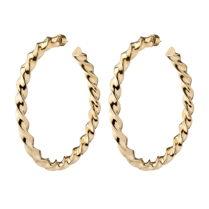 Twisted Karla Hoops