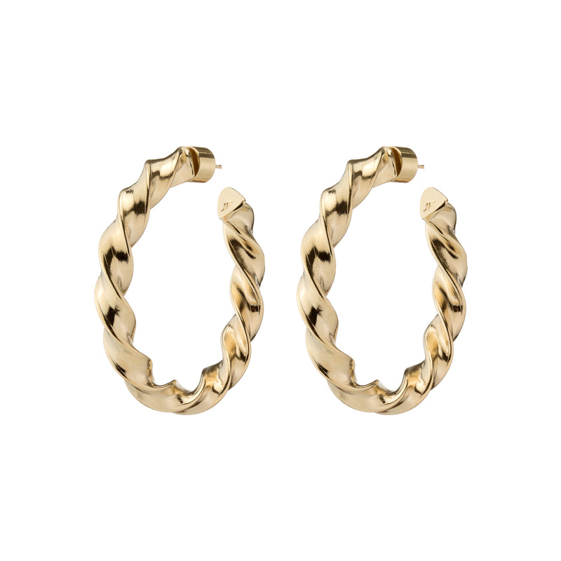 Baby Twisted Karla Hoops