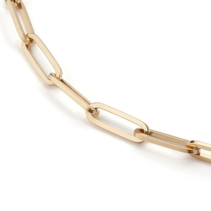 18k Long Link Chain