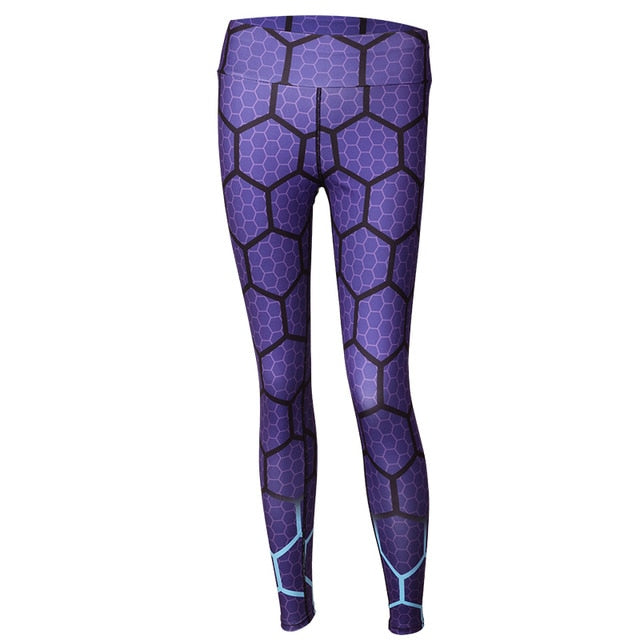 Honeycomb Fitness Leggings