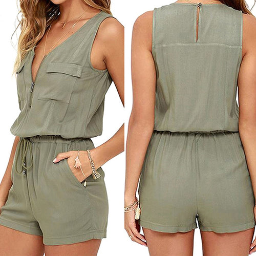 Loose Sleeveless Bodysuit
