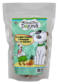"""NEW"" Hawaiian Chicken Barkers - Grain Free Treats"