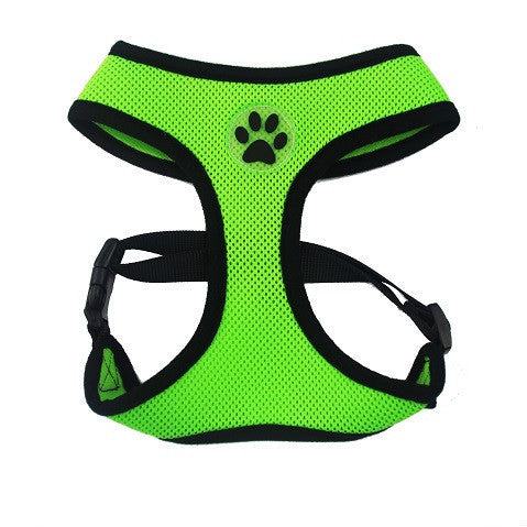 ZValue-Friendly Breathable Mesh & Padded Vest Harness High-Octane Green / XS