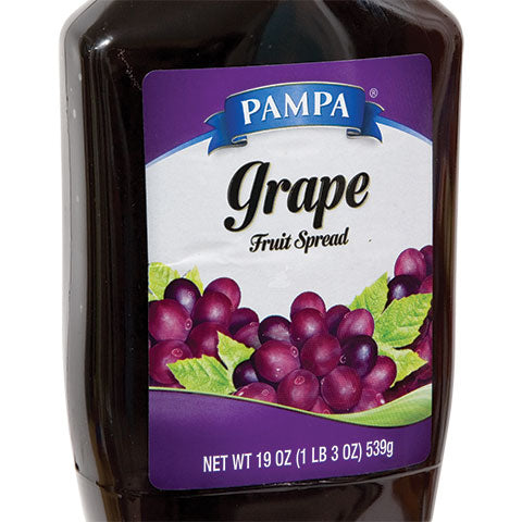 Pampa Grape Fruit Spread, 19-oz. Squeeze Bottles