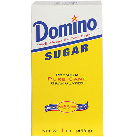 Domino Granulated Sugar, 1-lb. Boxes