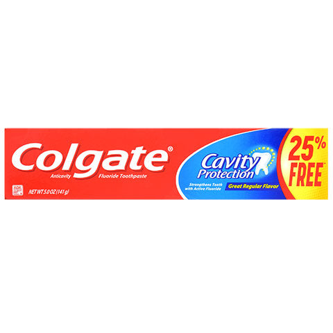 Colgate Cavity Protection Toothpaste, 5-oz. Tubes
