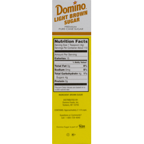 Domino Granulated Light Brown Sugar, 1-lb. Boxes