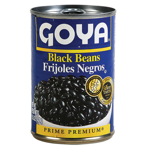 Goya Black Beans, 15.5-oz. Cans