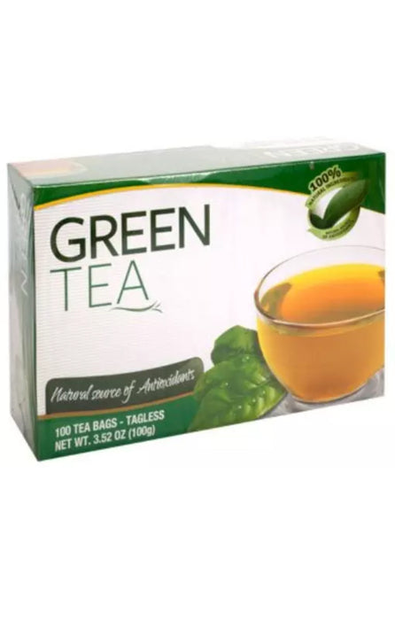 Premium Green Tea Bags, 100-ct. Boxes