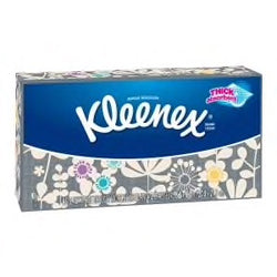 Kleenex Trusted Care Everyday Facial Tissues, Flat Box, 85 Tissues per Flat Box