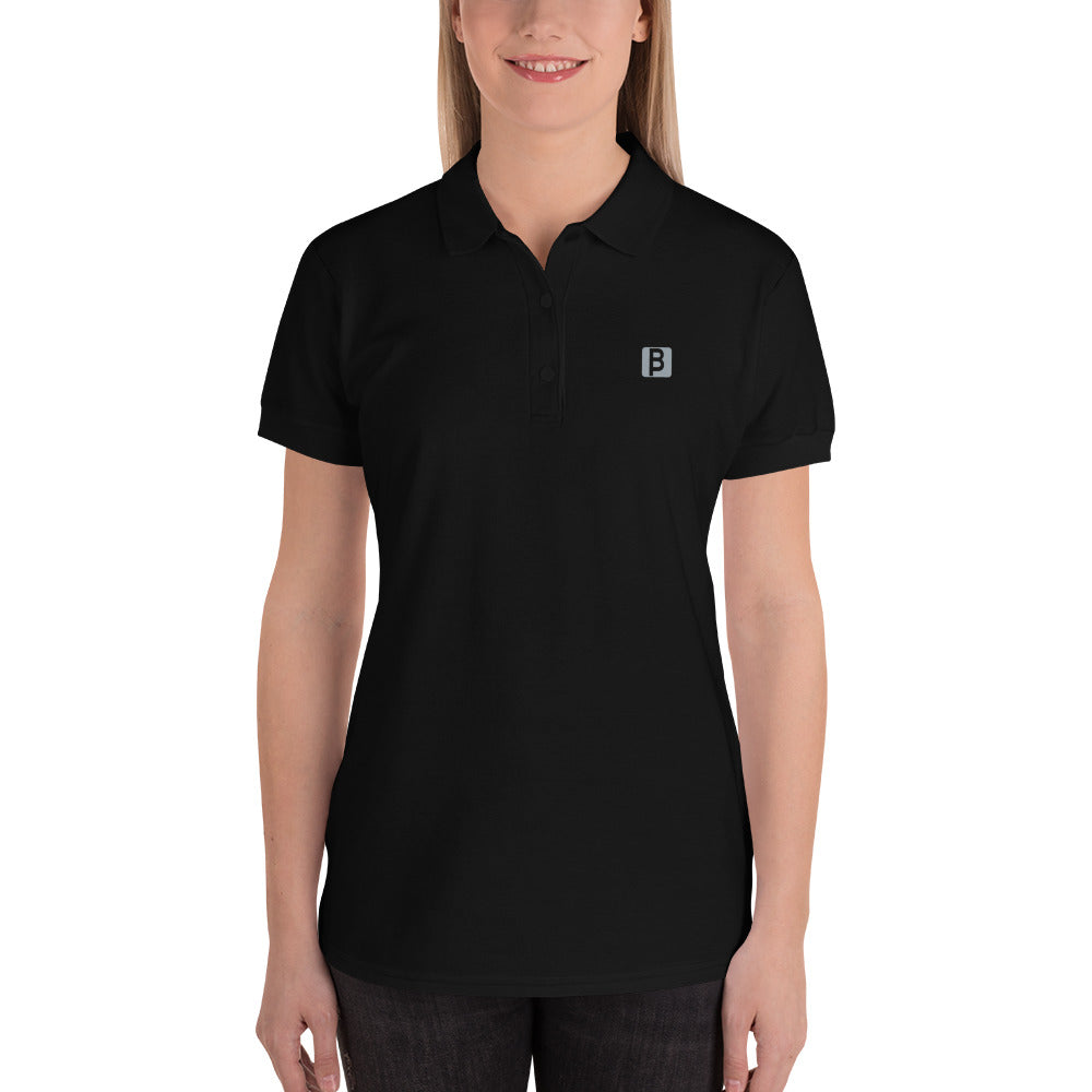 GoBliss Embroidered Women's Polo Shirt