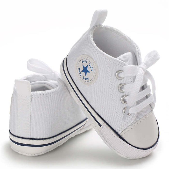 Baby Boy Girl Star Solid Sneaker