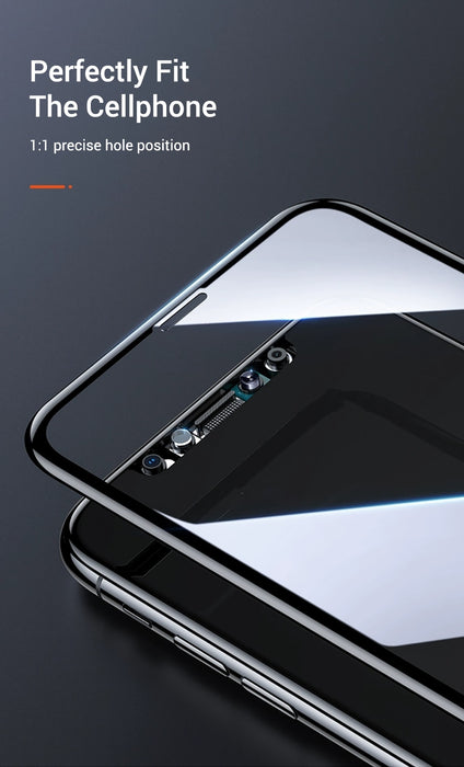 Full Cover Screen Protector Tempered Glass For iPhone Xr X Xs max