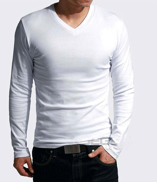 Newest fitness long sleeve slim fit t shirt men's thermal compression tights shirts